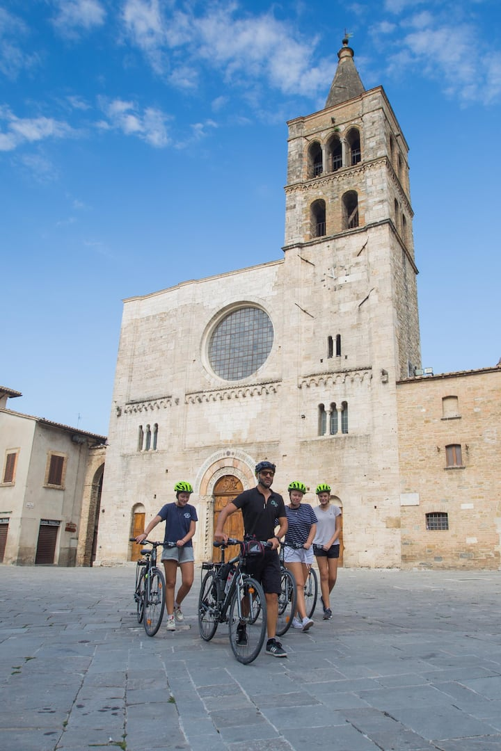 Explore medieval towns
