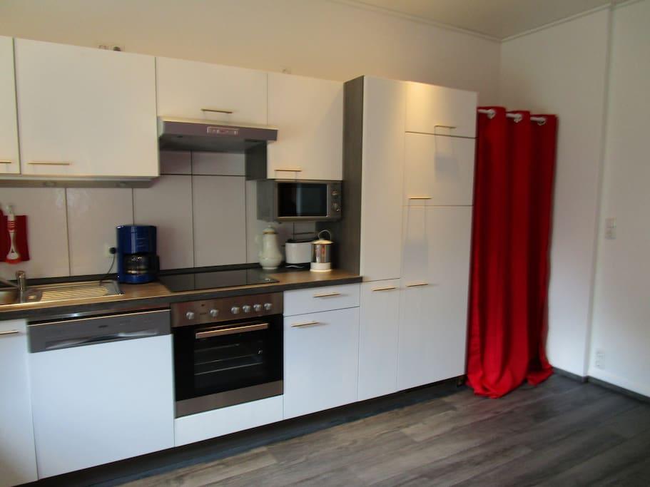 Wohnküche - Küchenzeile