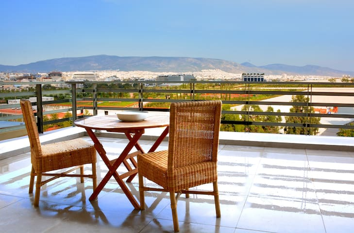 Stylish apartment great park view - Kallithea - Apartment