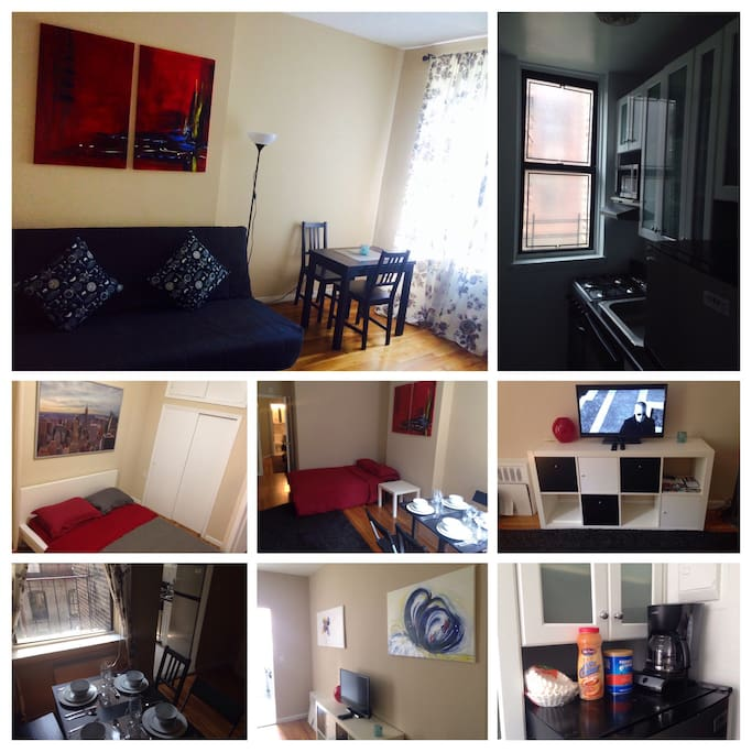 Manhattan central park 1bd apt sleep4ppl appartamenti in for Appartamenti affitto nyc
