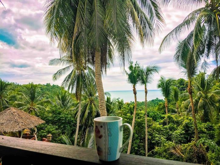 Samui Green Palm Resort Seaview Deluxe Suite