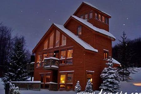 Mountain Ski Chalet Home - Hottub! - Davis
