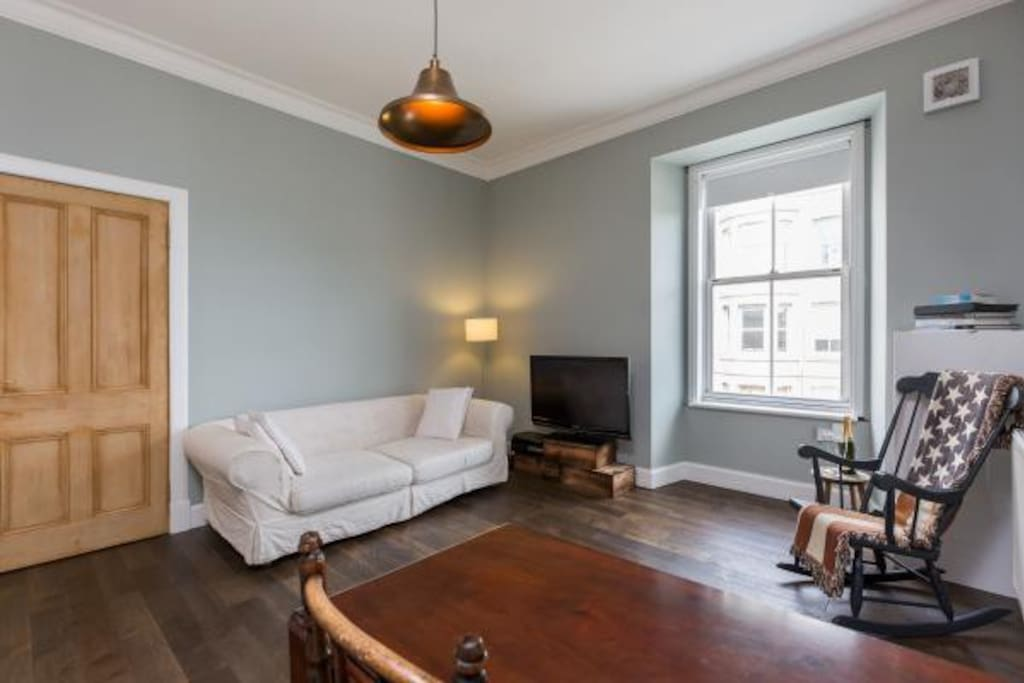 centrally located edinburgh flat apartamentos en