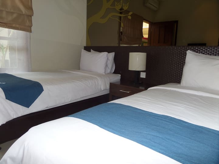 Twin Bedroom near Cathedral Ijen Malang