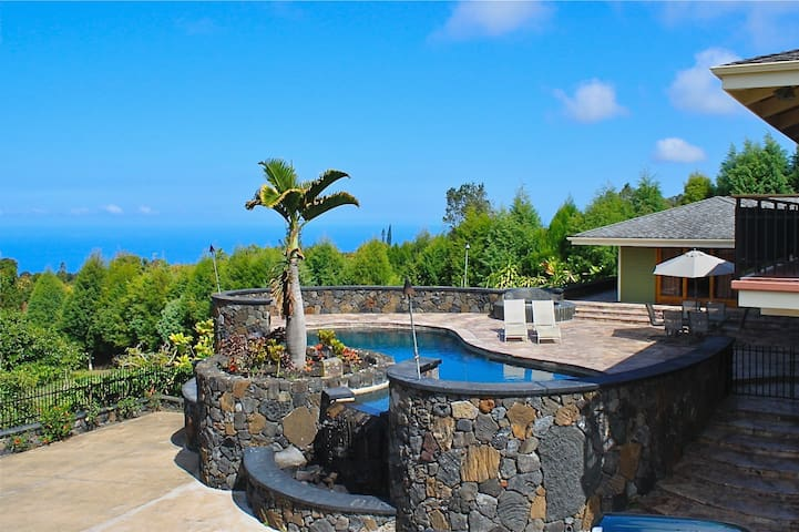 Oceanview, private pool, 5 acres of avocados!