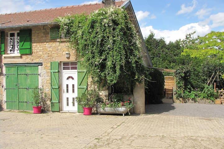 Gîte 3chambres 4 lits en Lorraine entre Metz Nançy