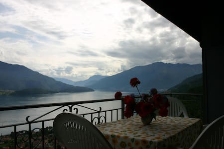 Lago Di Como, Lake View, Montemezzo - Cerceno - Apartmen