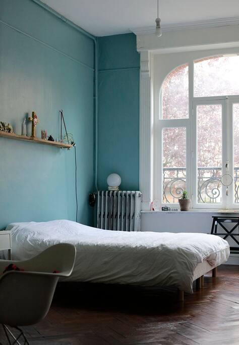 Chambre lit : 160x200 cm