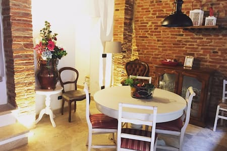 Historic apartment renovated  Montepulciano