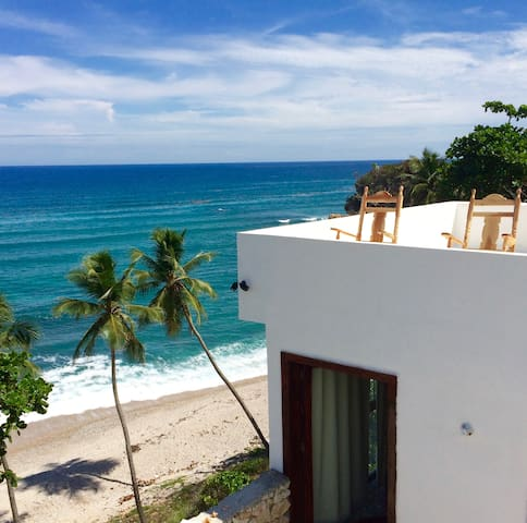 Villa Carmen 2 - Ocean View - Private Beach - Barahona - Vila