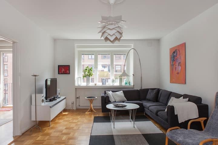 Light apartment of 117 m2 in central Gothenburg