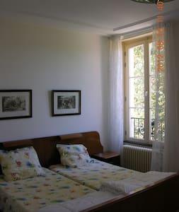 B&B in oude Presbytere, kamer West - Marigny-sur-Yonne