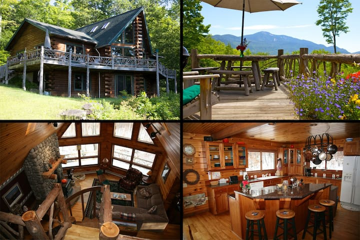 Giant's View Lodge - Adirondacks - Keene Valley - Hus