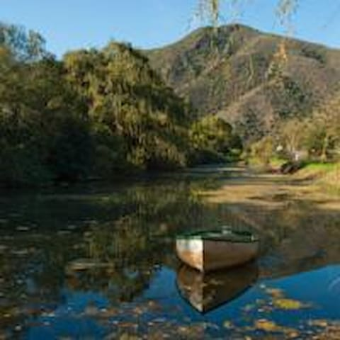 Room river & mountain view @ Old Mill & Restaurant - Oudtshoorn - Bed & Breakfast