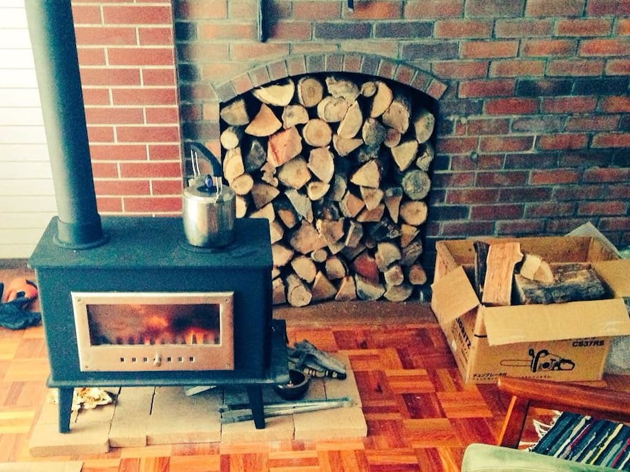 Fire wood stove