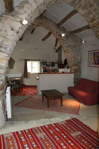 Gite dans ancienne bergerie voutée - Saint-Affrique - Huis