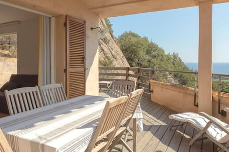 2 rooms Villa view Palombaggia & wide terrasse - Maison
