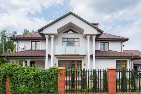 Villa nearby Warsaw Airport!!!