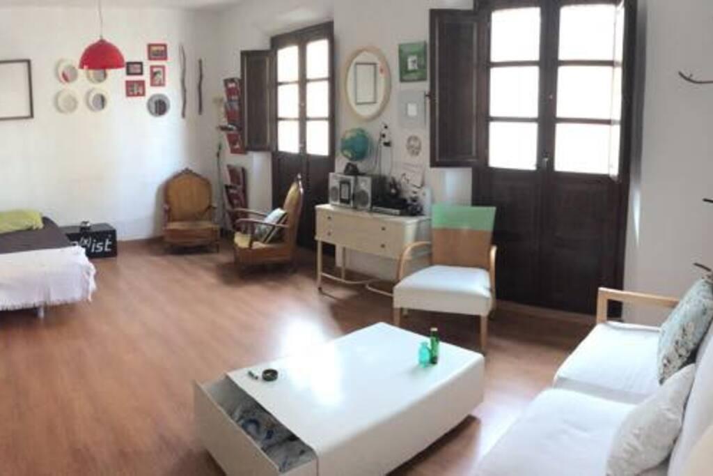 Habitación-salón