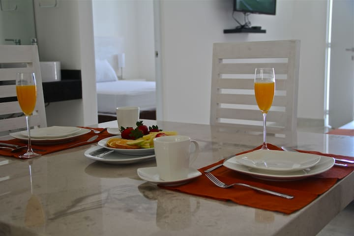 CANTABRIA HOUSE SUITES I - Aguascalientes - Apartment