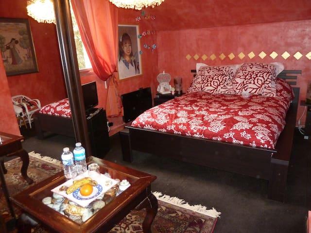 chambre LORA à la Chandanielerie - Quimper - Bed & Breakfast