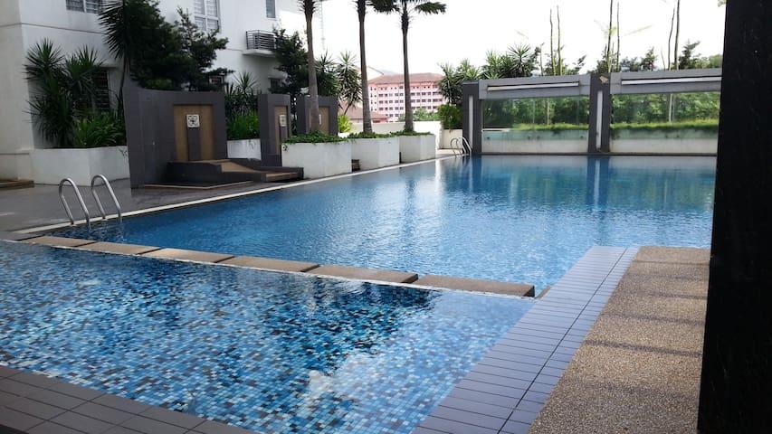 Condo@Selayang KL North.Easy escape to North M'sia - Σπηλιές Μπατού - Διαμέρισμα