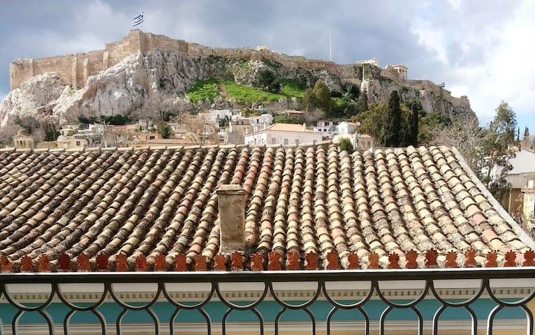 Bohemian apart.  w/ Acropolis view - Athina - Apartment
