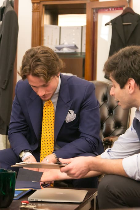 Tailor made suits