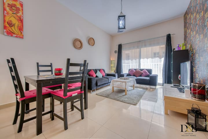 Lovely 1 Bedroom Apartment with a Spacious Balcony