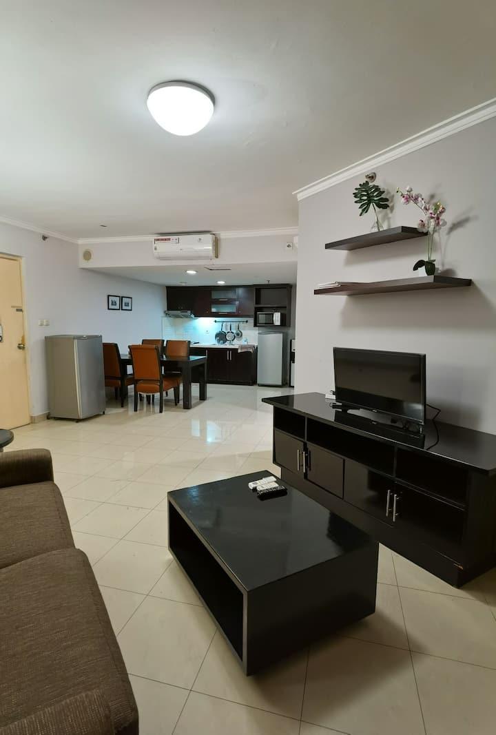 ¶Aston condominium at Setiabudi, South Jakarta¶