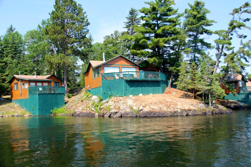 A variety of cabins available