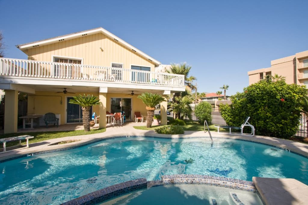 South Padre Island Houses For Rent On The Beach