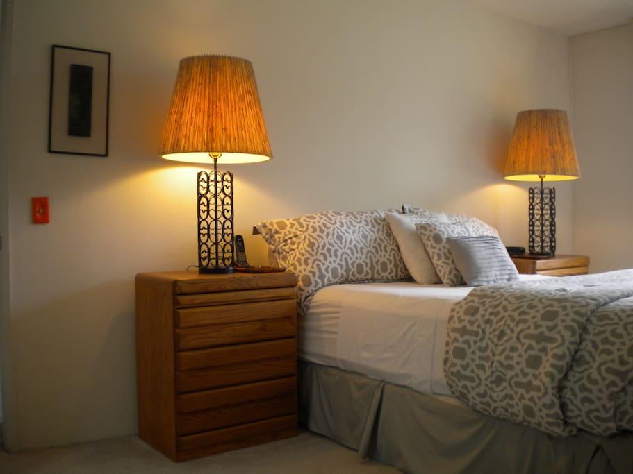 Vintage Mid-Century Furnishing in Master bedroom