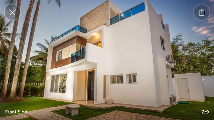 Modern House in Perla Marina Cabarete 1