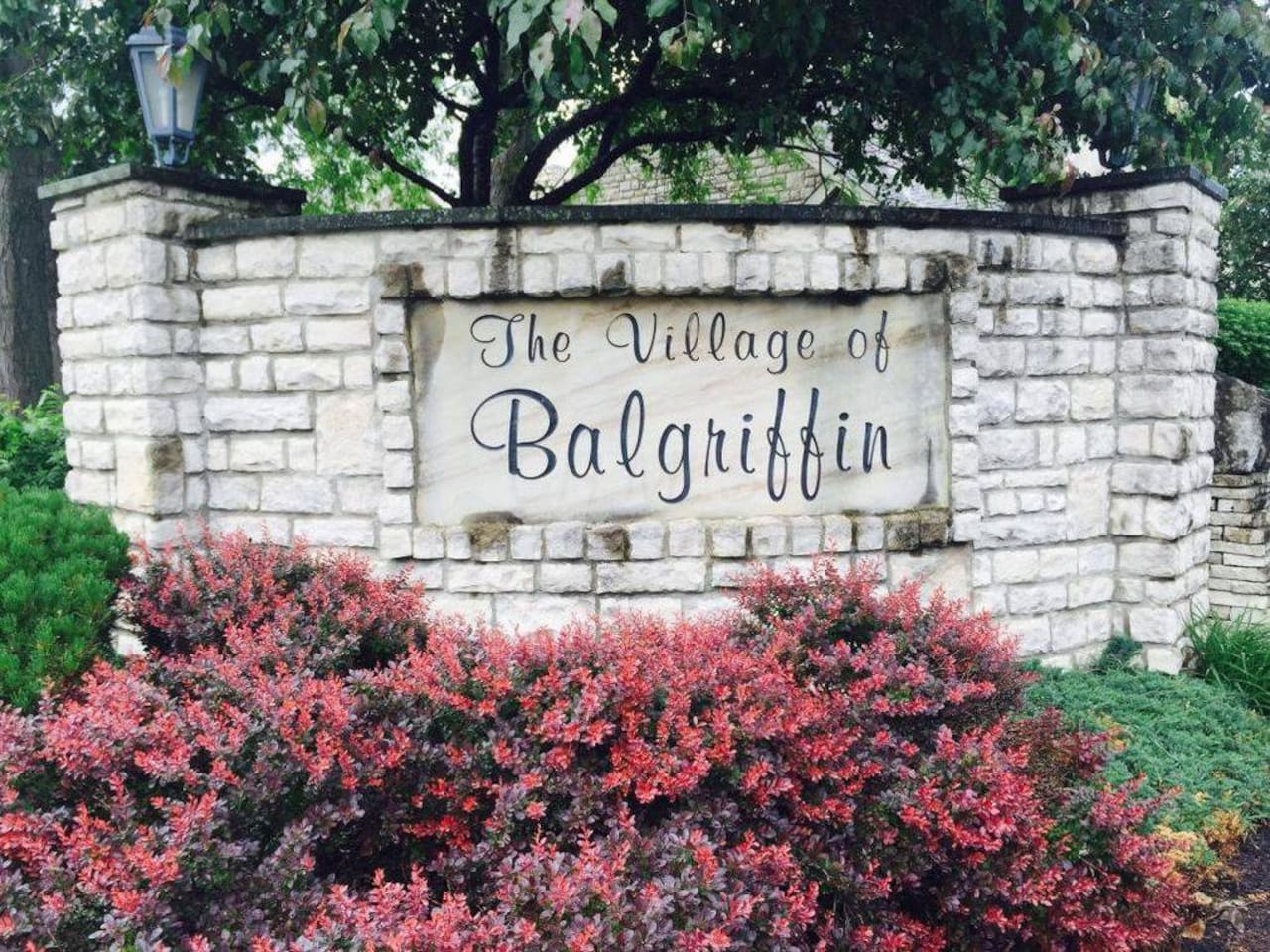 Entrance to the condominium complex