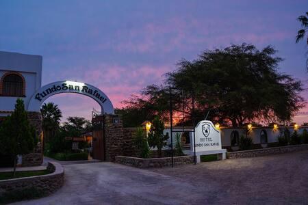 Hotel Fundo San Rafael una experiencia inolvidable