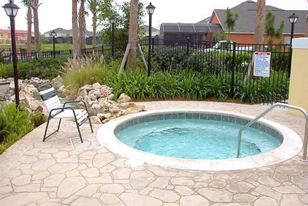 Heated Community spa