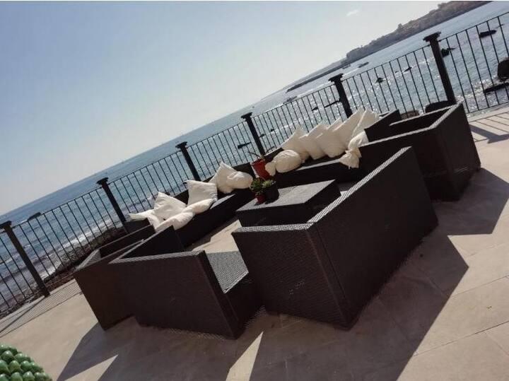 Appartamento in villa Ceta sul mare - wi-fi