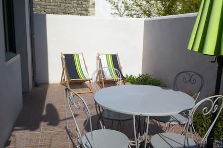vacances retaise au calme - Sainte-Marie-de-Ré - 公寓