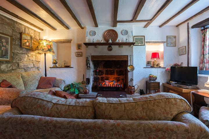 Charming 5 star Peak District cottage with wifi - Stanton in Peak - Hus