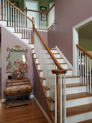 Stairway to go upstairs