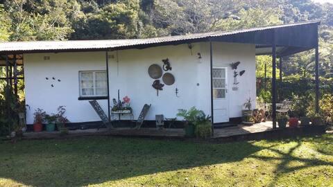 Quiet and idyllic, getaway guest cottage- Hurukuru