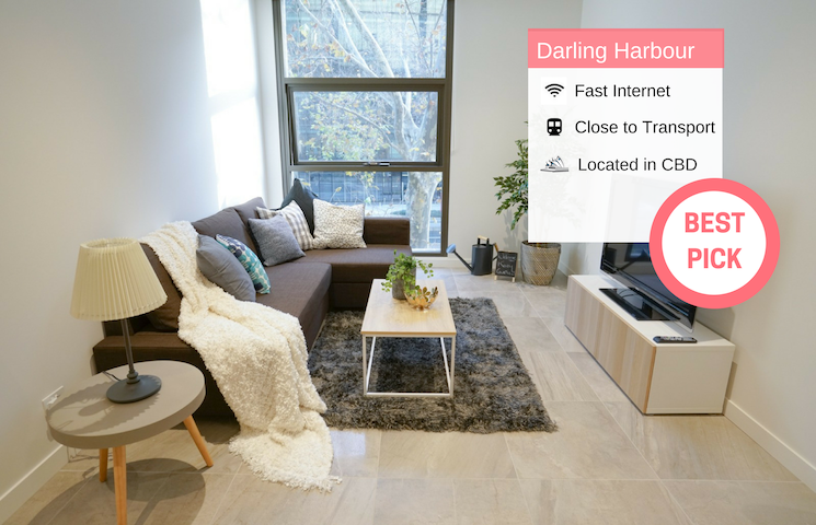 Walk To Darling Harbour 1 BED NEW APT NSY188
