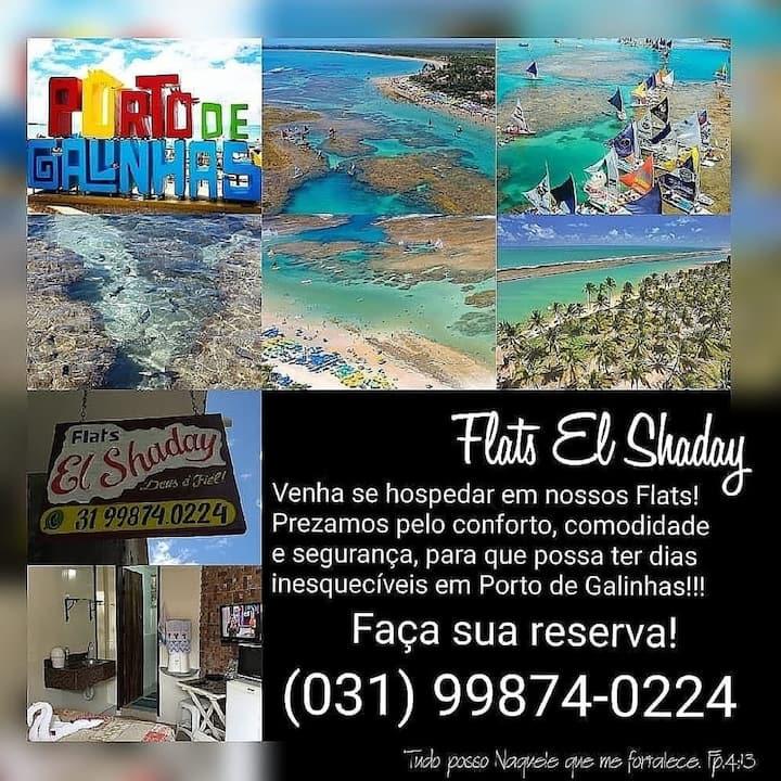 Porto de Galinhas Suite  familia El shaday centro