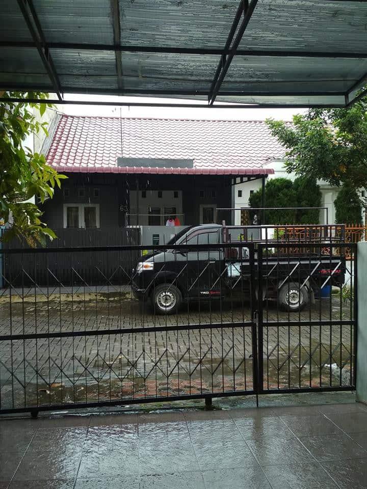 Simple Minimalist House. Comfort, Safe Environment