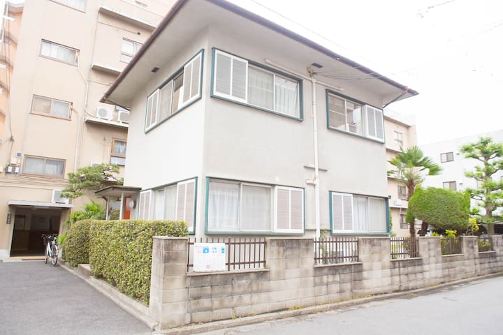 WHOLE HOUSE (2 Floors). Great for group + Wifi! - Hiroshima-shi - Casa