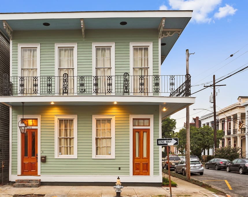 Meticulously remodeled home in the Garden District