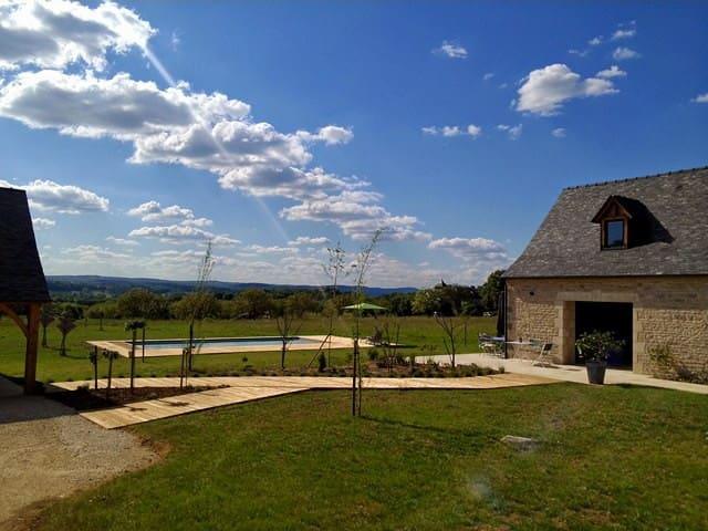 Le Mazet d'Olt Chambre Mam' Zaza - Saint-Michel-de-Bannières - Ev