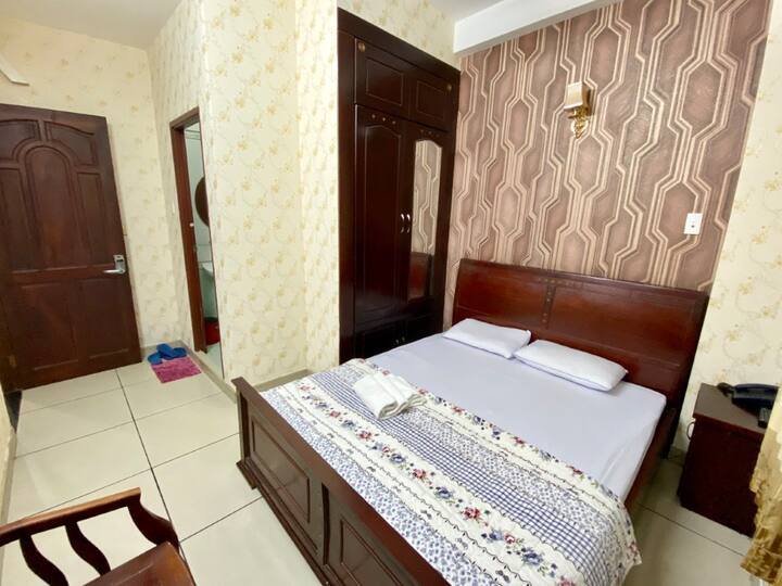 Double Room at Ngoc Huy Hotel