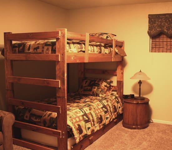 Bunk Beds in Kid's Room
